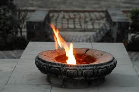 lit flame